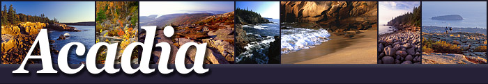 Acadia National Park on Mount Desert Island in Maine